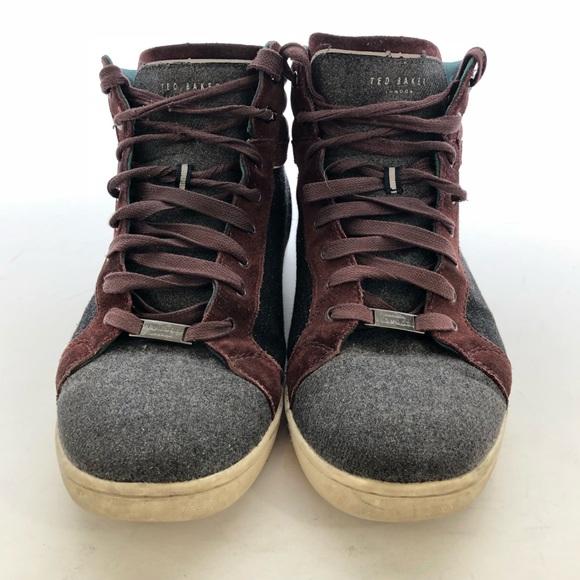 51335f6c0a91c6 Ted Baker London men s sneakers size 11.5. M 5afdef5645b30cde4bb79af6